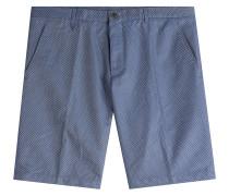 Shorts aus Baumwolle mit Muster