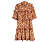 Bedrucktes Minikleid Maiwenn aus Baumwolle