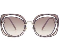 Sonnenbrille mit Cut Outs