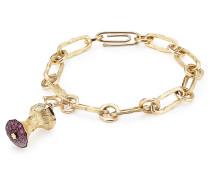 Anhänger Big Apple aus 18kt Gold mit Rubinen/Diamanten