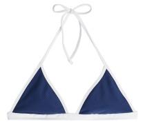 Triangel-Bikini-Top im Two Tone Look