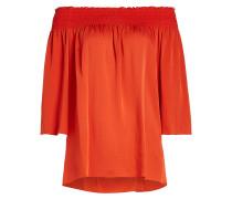Carmen-Bluse aus Seide