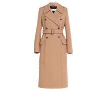 Doppelreihiger Mantel Vermount aus Wolle