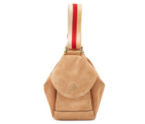 Tasche Micro Fernweh aus Veloursleder
