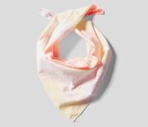 Tuch im Batik-Look