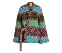 Bestickte wendbare Jacke aus Wolle