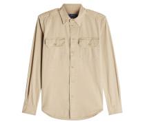 Military-Bluse aus Baumwolle