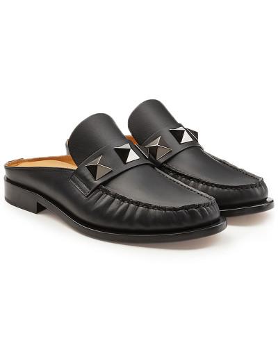 Valentino Herren Slip-In Loafers aus Leder mit Nieten