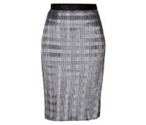 Plissierter Pencil-Skirt