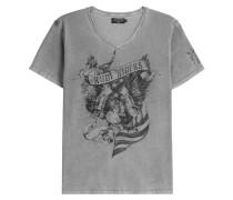 Print-Shirt American Eagle aus Baumwolle