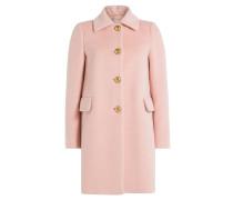 Kurzer Mantel aus Wollgemisch