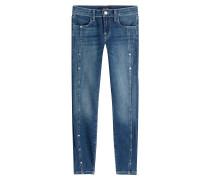 Skinny Jeans mit Nieten