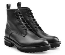 Geschnürte Leder-Boots