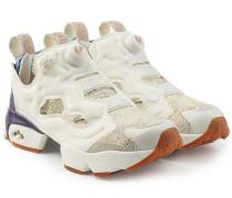 Plateau-Sneakers InstaPump Fury mit Leder