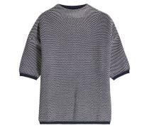Strukturierter Pullover mit Baumwolle