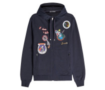 Hoodie mit Patches