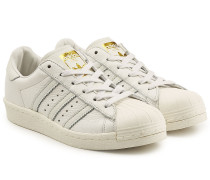 Leder-Sneakers Superstar Boost
