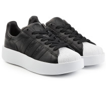 Plateau-Sneakers Superstar aus Leder
