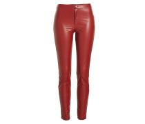 Skinny Pants in Leder-Optik