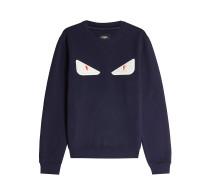 Sweatshirt aus Wolle und Baumwolle