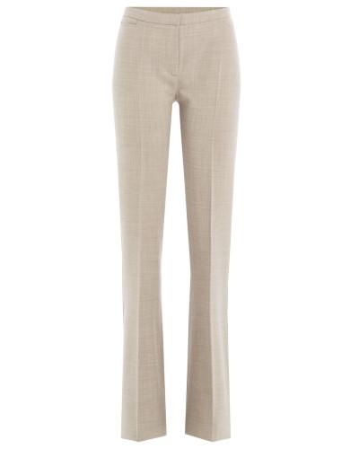 Wide Leg Pants aus Schurwolle