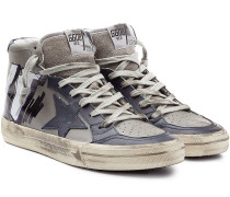 High-Top-Sneakers 2.12 aus Leder
