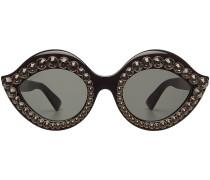 Sonnenbrille mit Schmucksteinen