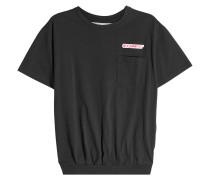 T-Shirt Temperature aus Baumwolle mit Applikationen