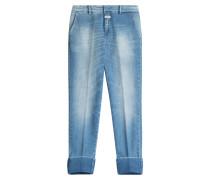 Boyfriend-Jeans Stewart aus Baumwoll-Stretch