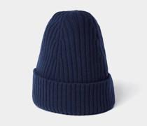 Mütze mit Strick-Optik