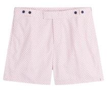 Bedruckte Bermuda-Shorts