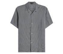 Kariertes kurzärmeliges Hemd