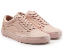Sneakers Old Skool aus Leder