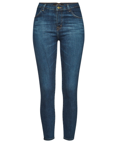 High Rise Cropped Skinny Jeans Alana