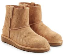 Boots Classic Mini Unlined aus Veloursleder