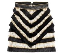 Fransen-Skirt aus Leder