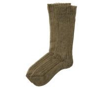 Socken mit Mohair und Alpaka
