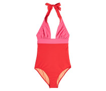 Swimsuit mit Neckholder im Two Tone Look
