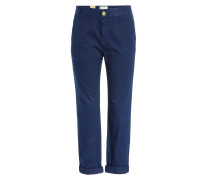 Cropped-Pants aus Baumwolle