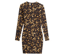 Print-Dress aus Baumwoll-Stretch
