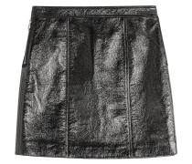 Mini-Skirt in Leder-Optik