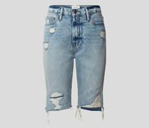 Shorts im Destroyed-Look