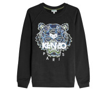 Statement-Sweatshirt aus Baumwolle