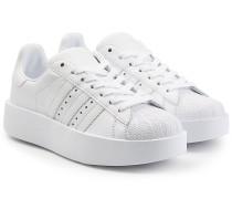Plateau-Sneakers Superstar aus Leder