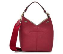 Kleine Handtasche Build a Bag aus Leder