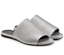 Flache Mules Gigy aus strukturiertem Leder