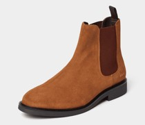 Chelsea Boot mit Label-Detail