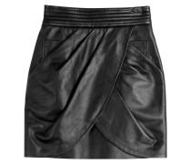 Drape-Skirt aus Lammleder
