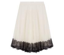 Flared-Skirt mit Tüll und Spitze