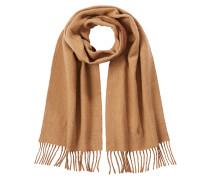 Schal mit Schur- und Baumwolle